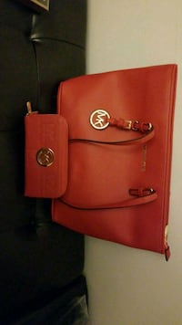 MK bag and wallet genuine leather  Montreal, H4P 2B2