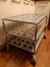 IKEA table on casters Toronto, M1M 3L7