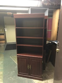 "Shelving unit with lower storage area 5'11"" high 30"" wide and 12"" deep - Delivery within surrey available for $10   On all deliveries an etransfer for total value a must before I load things up Surrey, V3V 7L9"