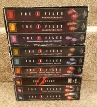 FREE - XFILES - 9 vhs in excellent condition   Available for porch pickup in Newmarket.  Item will be outside in a sheltered area beside my house for your pickup.