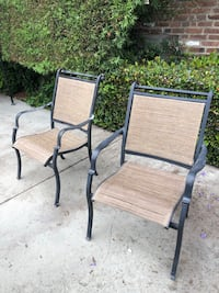 Metal and Glass Patio Set