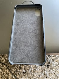 Iphone X/XS genuine apple leather case London, N6G