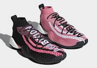 Pharrell x Crazy BYW black and pink, 6.5 Coquitlam, V3E 2Y1