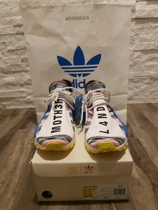 Sold Adidas Nmd Pharrell Williams Human Race Solar Pack In Toronto
