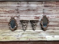 Pending pickup -Ornate mirror & shelf sets Port Moody, V3H 3E4