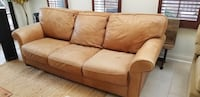 Leather Sofa - MUST GO BY DECEMBER 11th Toronto, M4V