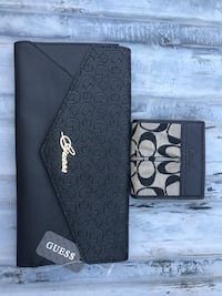 NEW GUESS CLUTH & COACH WALLET Honolulu, 96817