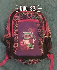 pink and black Minnie Mouse backpack Bloomington, 47401