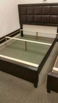 Brand New Queen Size Leather Platform Bed Frame  College Park, 20740