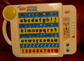 VINTAGE Vtech Talking Little Smart Alphabet Desk Electronic Educationa