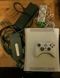 White Xbox Console with one controller PARTS  Oakland, 21550