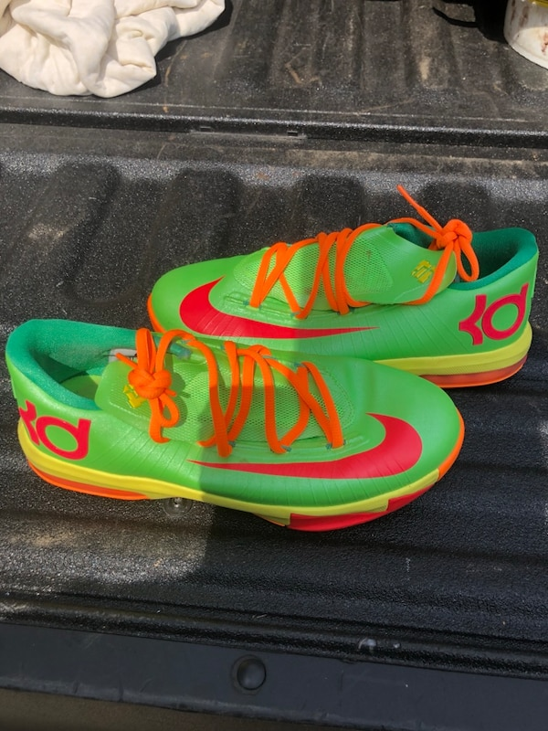 "Nike KD  (Kevin Durant) 6 GS ""Candy"" in flash lime/ 03a230d3-e1dc-40b9-9b35-0e0fa3779a58"
