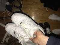 White air forces size 10.5