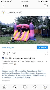 Bounce house rental Abbotsford
