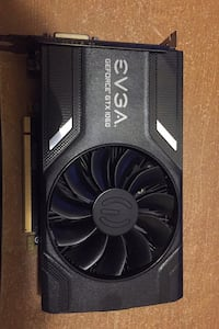 EVGA 1060 single fan 6gb