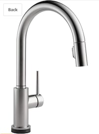 Delta Trinsic Touch2o Faucet in Arctic Stainless Laval, H7X