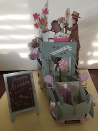 3D pop up card Calgary, T3N 0E9