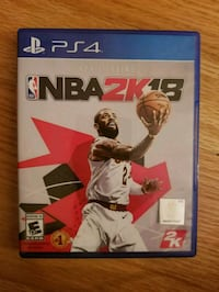 Sony PS4 NBA 2K18  Chesapeake, 23320