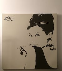 Audrey Hepburn Canvas Richmond Hill, L4C