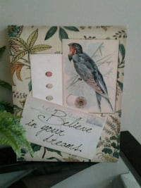 2 canvas quote pictures  Kitchener, N2K 4J7
