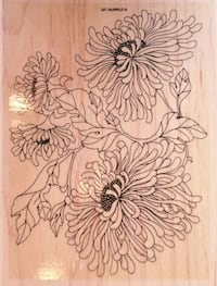 brown and black floral wall decor Edmonton, T6J 5E9