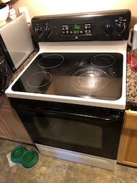 black and gray induction range oven Fort Washington, 20744