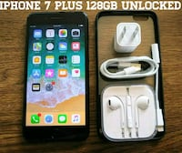 Iphone 7 Plus 128GB UNLOCKED w/ Accessories  Arlington