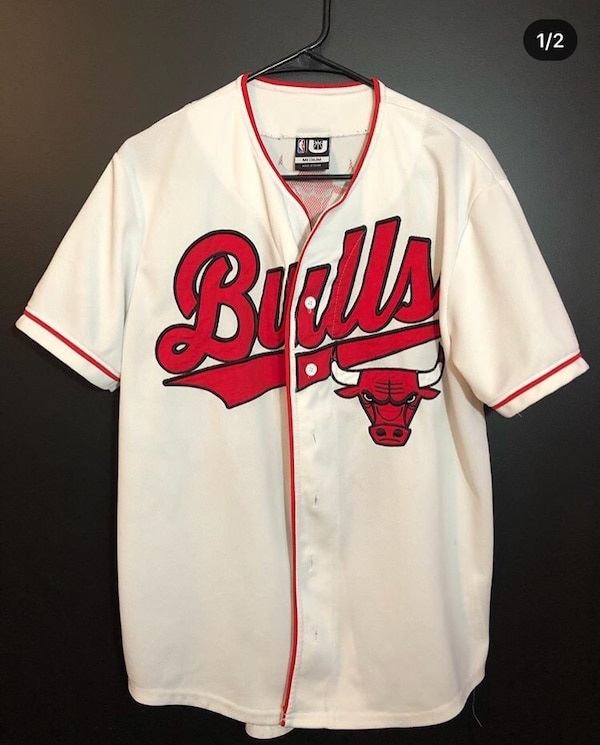 the best attitude edc5c 4a9f9 Bulls Baseball Jersey