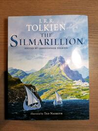 "J.R.R. Tolkien ""The Silmarillion"" Hardcover Illustrated by Ged Nasmith Mississauga, L4Y 3S4"