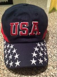 USA cap with 3D Puff embroidery, brand new Somerville, 02145