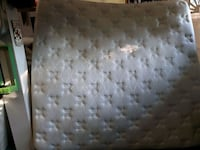 white and gray floral mattress Surrey, V3R 7E5