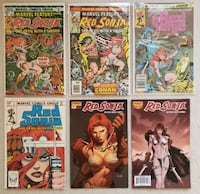 Red Sonja comic lot (6 books) Mount Airy