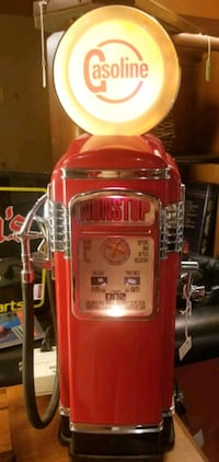 Gas pump radio cassette player and more Canton