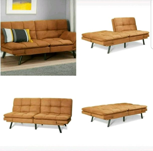 Used Memory Foam Futon Sofa Bed Couch
