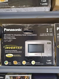Panasonic microwave 1.2 cu.ft stainless steel  Welland, L3B 4T6