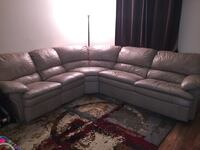 Ashley Furniture Beige LEATHER Sectional
