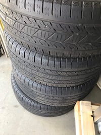 Toyota whees n tires