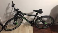 Black and green hardtail mountain bike Charles Town, 25414