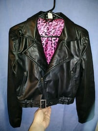 Black Leather Jacket West Valley City, 84120