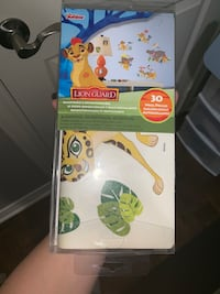 Lion king, lion guard wall decals.