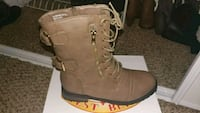 pair of brown leather boots Carmichael, 95608