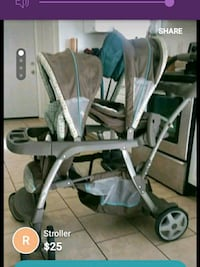 Graco infant and toddler stroller