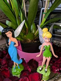 TWO HAND PAINTED FAIRIES