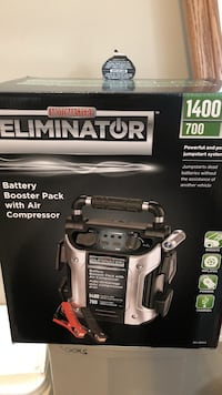 Booster Pack with Air compressor
