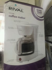 12 cup coffee maker rival.  Mississauga, L5A 3X2