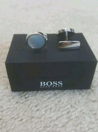 Hugo Boss cufflinks - Louis Vuitton Gucci