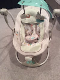 baby's gray and white bouncer Rocky View No. 44, T3L