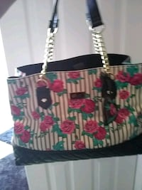 white, pink, and green floral tote bag Albuquerque, 87120