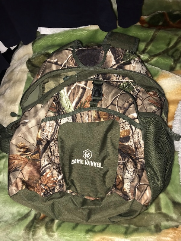 29995adb9970 Used camouflage game winner bookbag for sale in Covington - letgo