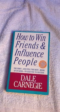 How To Win Friends & Influence People Book Toronto, M6G